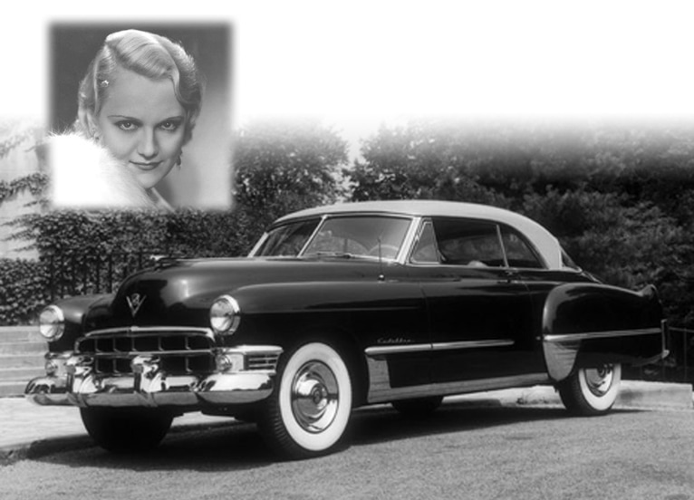 1949 Cadillac Coupe de Ville Series 62X- Original Unrestored Survivor - Designed by Harley Earl - Owned my Minna Gombell